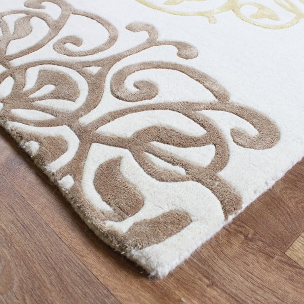 Vlnený koberec Matrix Tangier Cream 160x230 cm