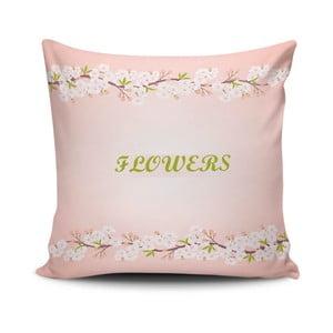 Vankúš s prímesou bavlny Cushion Love Pinko, 45 × 45 cm