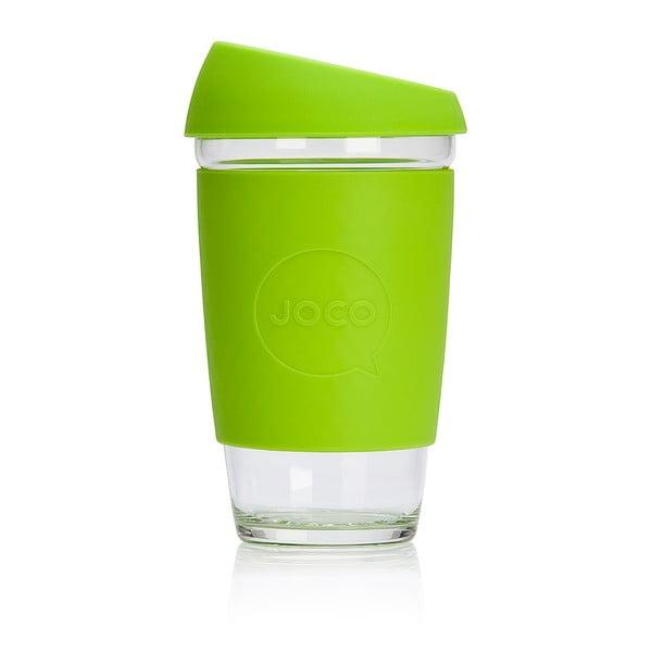 Eko hrnček na kávu Joco Cup 454 ml, limetkový