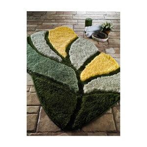 Zelená predložka do kúpeľne Confetti Bathmats Arsus, 70x120cm