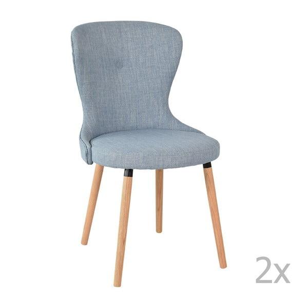 Sada 2 modrých stoličiek RGE