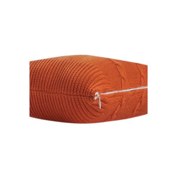 Vankúš s výplňou Fancy Orange, 43x43 cm