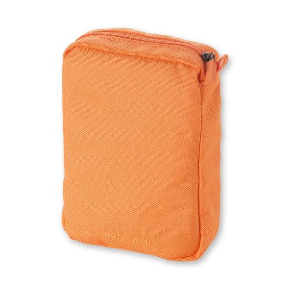 Oranžová univerzálna kapsička Moleskine, 17 x 12 cm