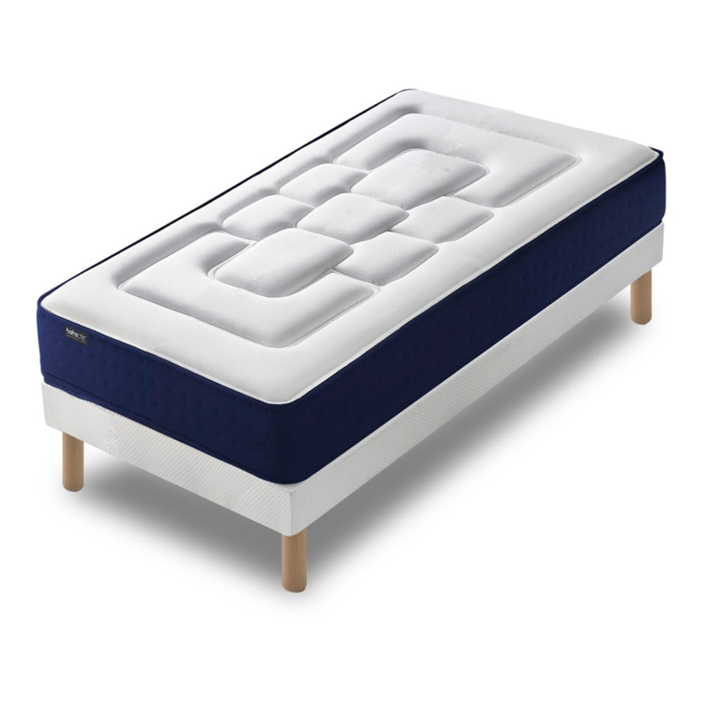 3ac41af1aaab6 Jednolôžková posteľ s matracom Bobochic Paris Velours, 90 × 190 cm ...