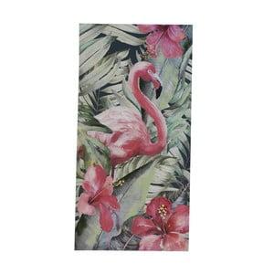 Nástenný obraz na plátne Geese Modern Style Flamingo Uno, 60 × 120 cm