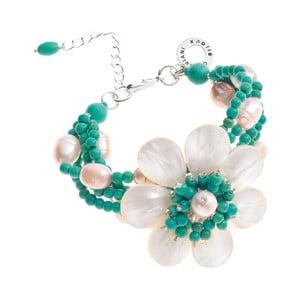 Tyrkysový perlový náramok Ottaviani Floralisima