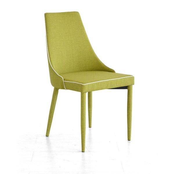 Jedálenská stolička Plana, zelená