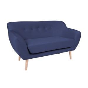 Modrá dvojmiestna pohovka BSL Concept Eleven