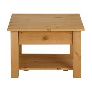Odkladací stolík z masívneho borovicového dreva Støraa Yvonne, 60 x 60 cm