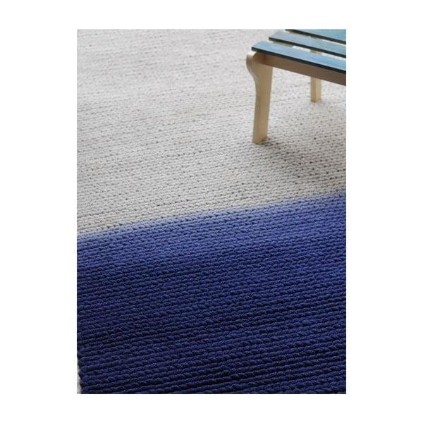 Vlnený koberec Kollam Grey/blue, 160x230 cm