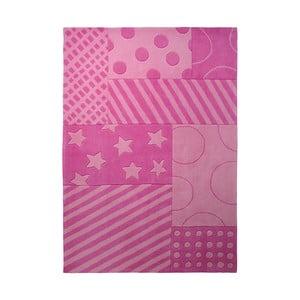 Koberec Esprit Stars Stripes Pink, 170x240 cm