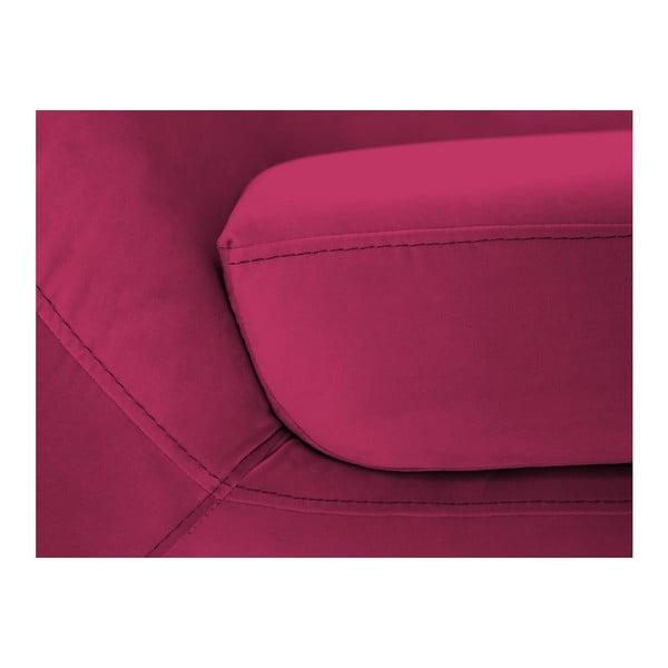 Ružová dvojmiestna pohovka Mazzini Sofas Amelie