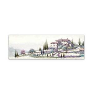 Obraz na plátne Styler Tuscany, 140 x 45 cm