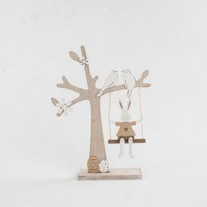 Drevená dekorácia Dakls Tree With Swing