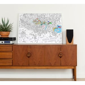 Maľovanka OMY USA (70 x 100 cm)