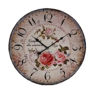Nástenné hodiny Antic Line Des Senteurs