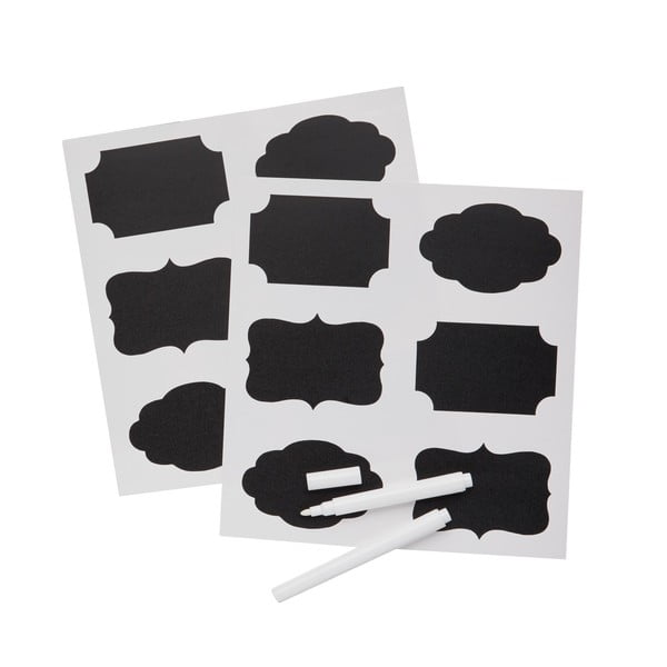 Sada 12 tabuľových štítkov na označenie zaváranín Kitchen Craft Home Made