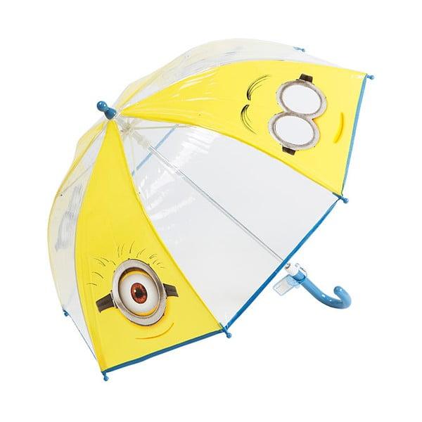Detský transparentný dáždnik Les Minions
