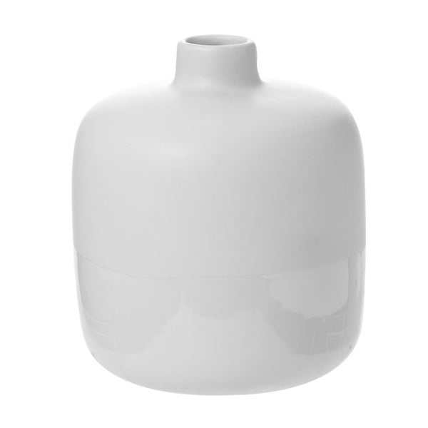 Váza Shade Dip White, 17x17x18,5 cm