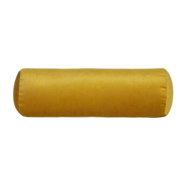 Žltý vankúš BePureHome Spool, dĺžka 52cm