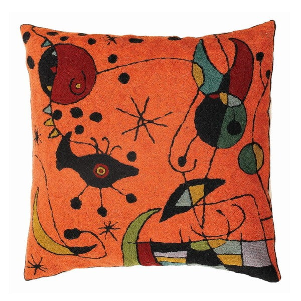 Obliečka na vankúš Miro Orange, 45x45 cm
