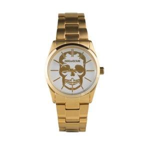 Pánske hodinky zlatej farby Zadig & Voltaire Ezop