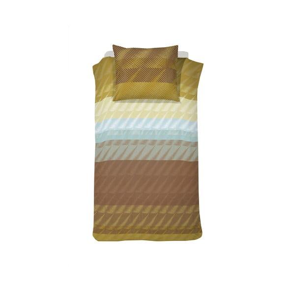 Obliečky Case Pleat Ochre, 140x200 cm