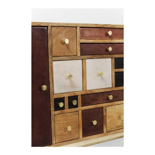 Hnedá komoda z mangového dreva Kare Design Panoptikum