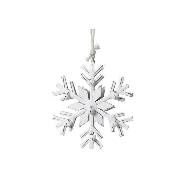 Závesná vianočná dekorácia Parlane Snowflake