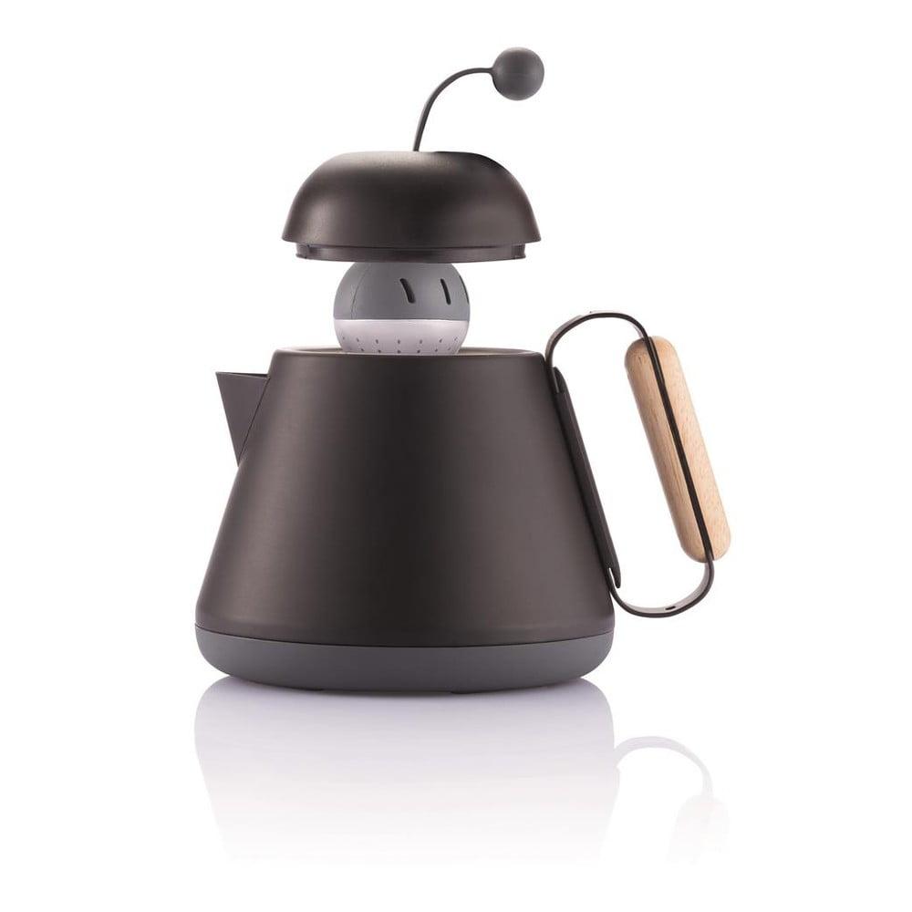 Čierna čajová kanvica XD Design Teako Kanvice Teako robí z pitia čaju neobyčajný zážitok, ktorý si budete vychutnávať až do posledného dúška.  <iframe width=
