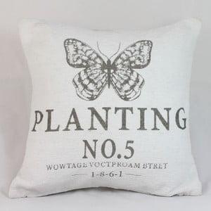 Obliečka na vankúš Planting, svetlá