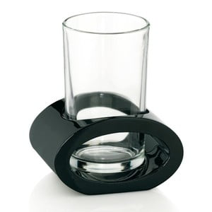 Čierny pohár s držiakom Kela Mirage