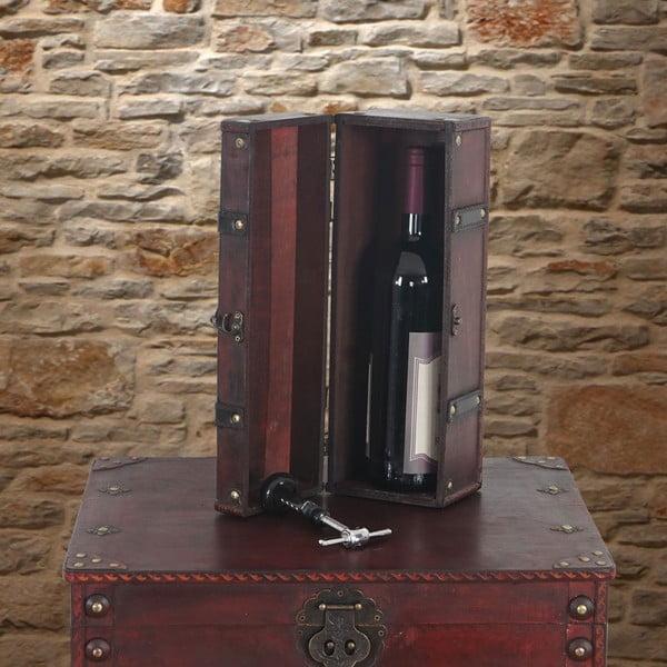 Box Shabby na fľašu vína