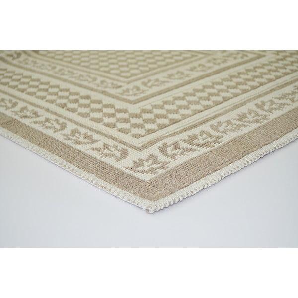 Béžový odolný koberec Vitaus Olivia, 120x180cm