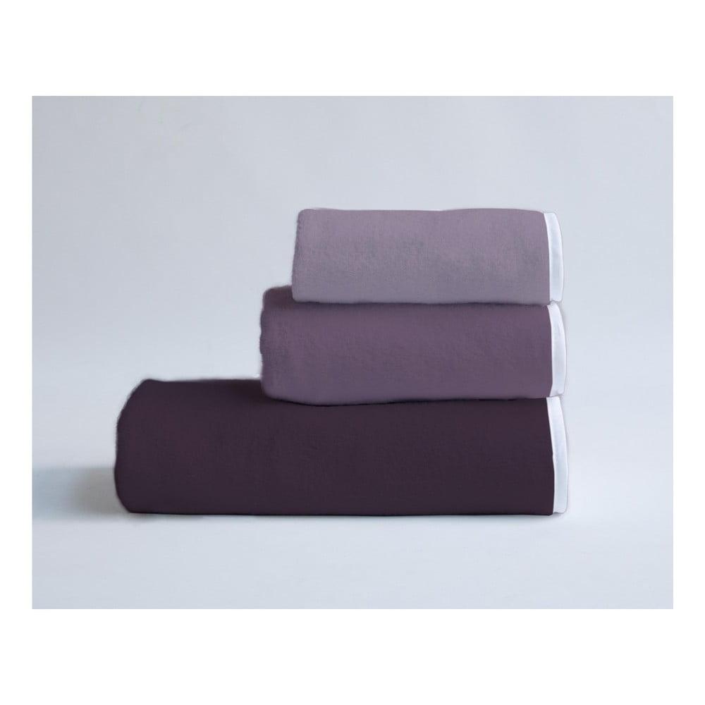 Sada 3 bavlnených uterákov Velvet Atelier Violet Pallete