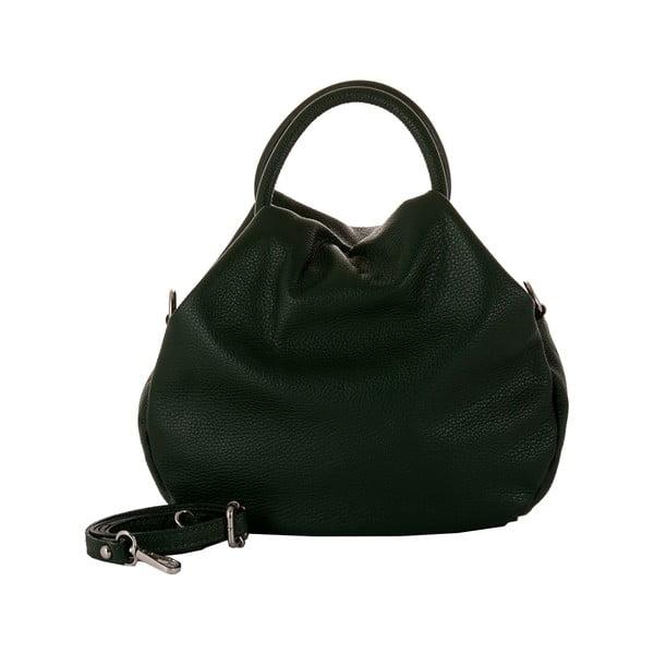 Zelená kožená kabelka Andrea Cardone 1029