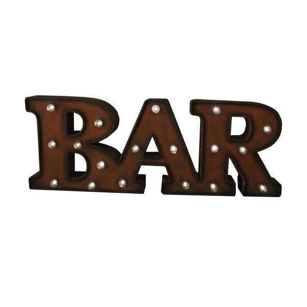 Svietiaci nápis Antic Line Bar Mot