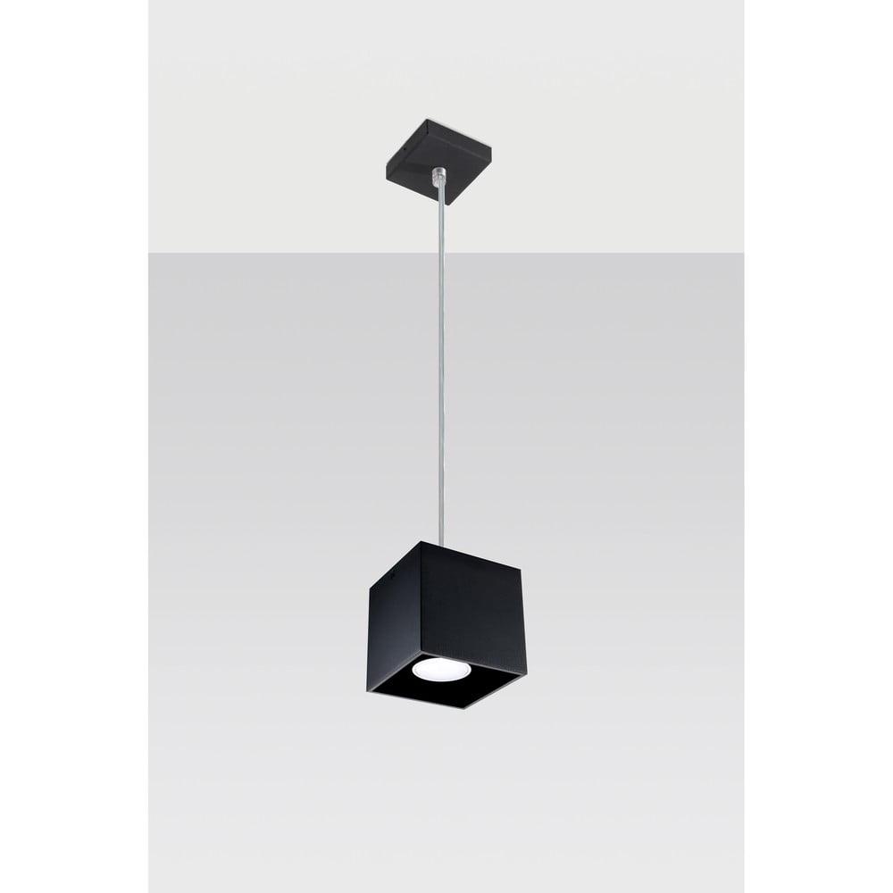 Čierne závesné svetlo Nice Lamps Geo