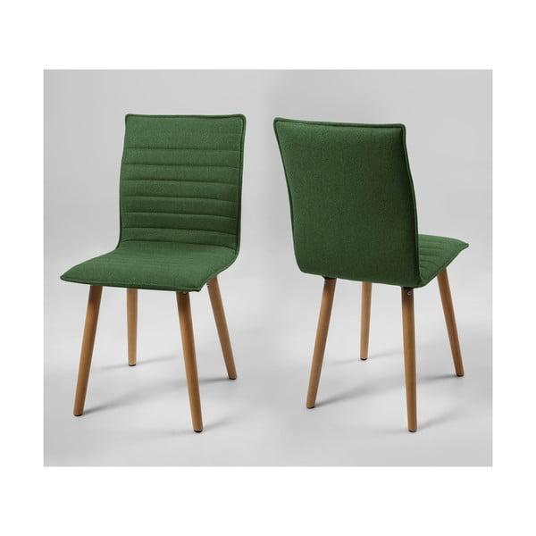 Jedálenská stolička Karla, zelená
