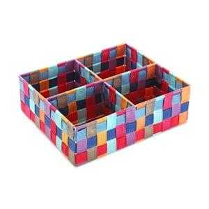 Box so 4 priehradkami Colorendo