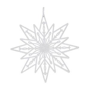 Biela závesná dekorácia Ewax Estrella