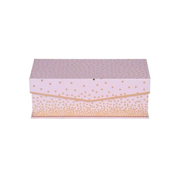 Sada 3 podlhovastých magnetických boxov Tri-Coastal Design Sky And Glitters