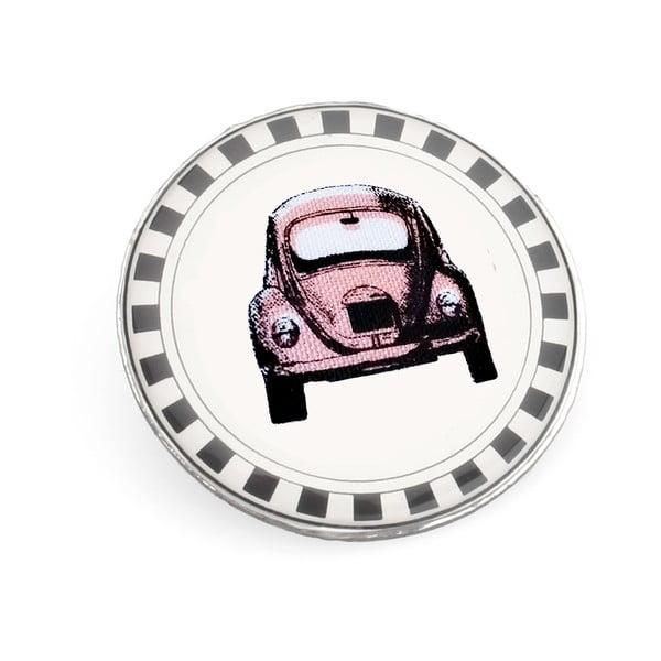 Brošňa Ružové autíčko od Lucie Markovej