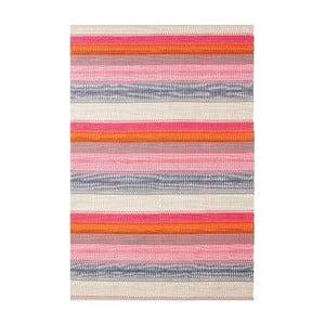 Ručne tkaný bavlnený koberec Linie Design Ida, 80x150cm