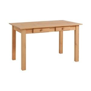 Jedálenský stôl z borovicového dreva Støraa Jamie, 80 x 120 cm