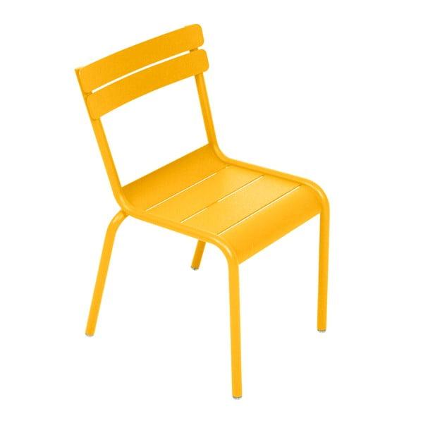 Žltá detská stolička Fermob Luxembourg