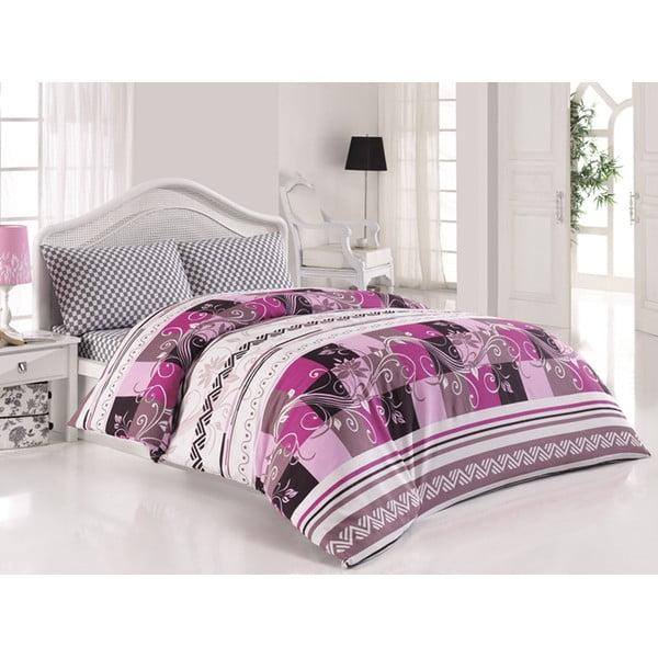 Sada obliečok a plachty Say It Purple, 200x220 cm