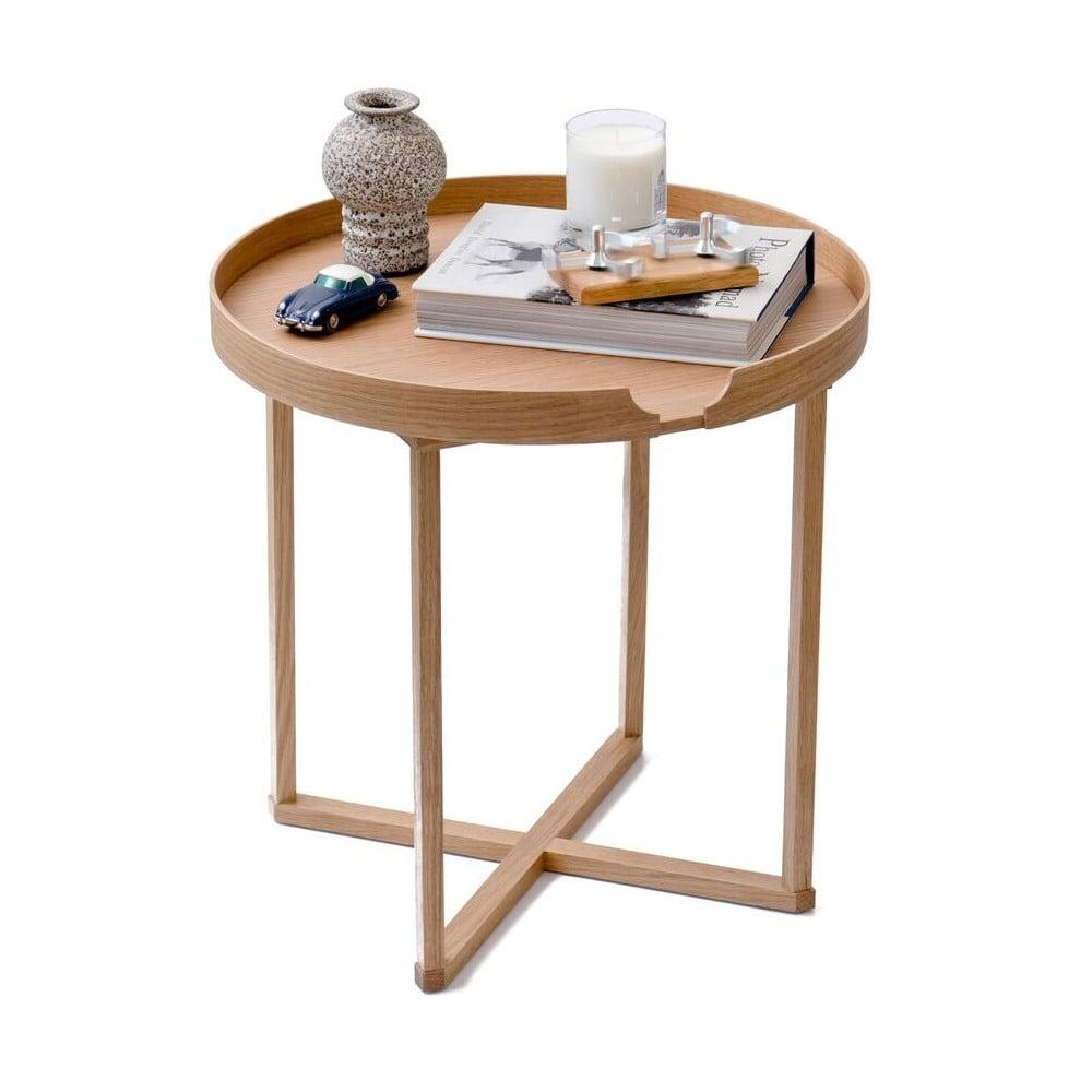 Odkladací stolík Wireworks Damieh, 45 × 45 cm