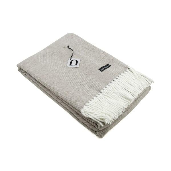 Prikrývka Skagen, 130x170 cm, piesková