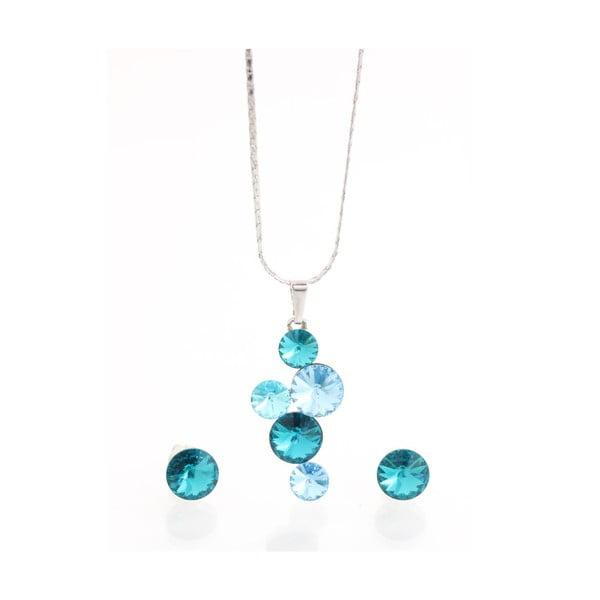Set náhrdelníka a náušníc so Swarovski Elements Laura Bruni Jokulsa